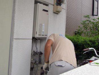 みよし市三好丘桜 アパート 給湯器取替え事例